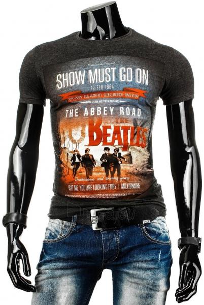 Vyriški marškinėliai Beatles (Juodi) Paveikslėlis 1 iš 4 310820031085
