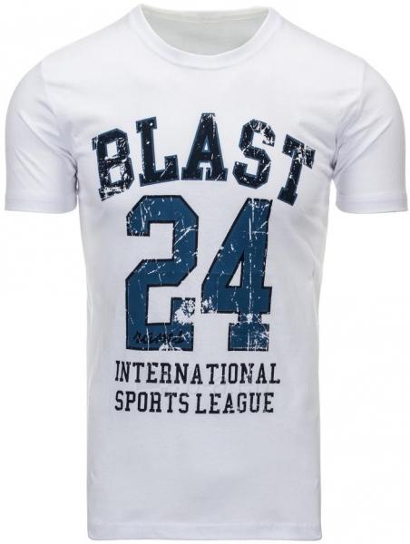 Vyriški marškinėliai BLAST (Balti) Paveikslėlis 1 iš 5 310820031192
