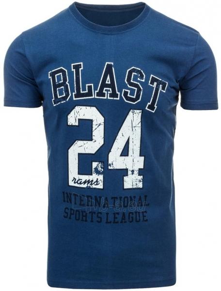 Vyriški marškinėliai BLAST (Tamsiai mėlyni) Paveikslėlis 1 iš 5 310820031193