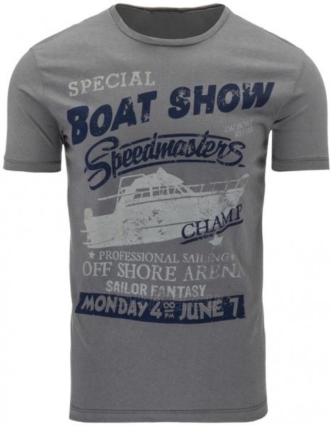 Vyriški marškinėliai BOATSHOW (Grafitiniai) Paveikslėlis 1 iš 5 310820031185