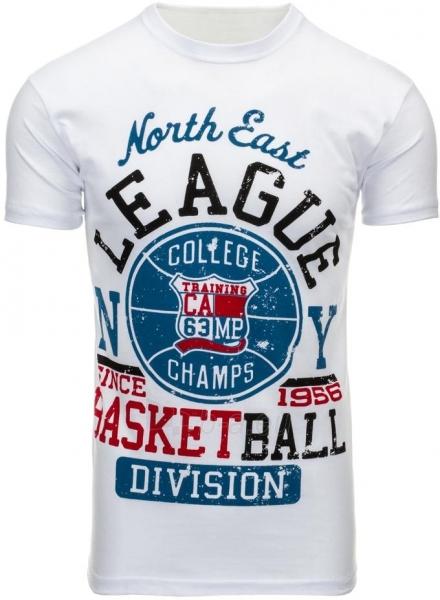 Vyriški marškinėliai Camps (Balti) Paveikslėlis 1 iš 5 310820031359