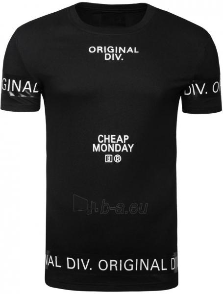Vyriški marškinėliai Cheap Monday (juodi) Paveikslėlis 1 iš 7 310820033068