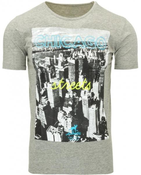 Vyriški marškinėliai Chicago (Pilki) Paveikslėlis 1 iš 5 310820031090