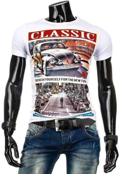 Vyriški marškinėliai Classic (Balti) Paveikslėlis 1 iš 4 310820034871