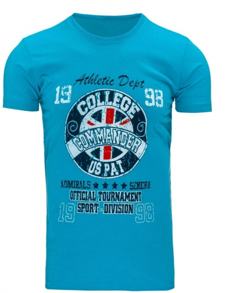 Vyriški marškinėliai Commander (Turkis) Paveikslėlis 1 iš 5 310820031181