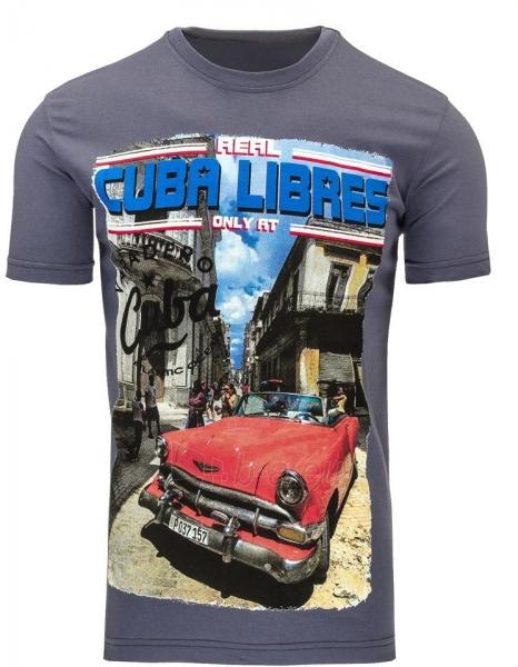 Vyriški marškinėliai CUBALIBRES (Grafitiniai) Paveikslėlis 1 iš 5 310820043424