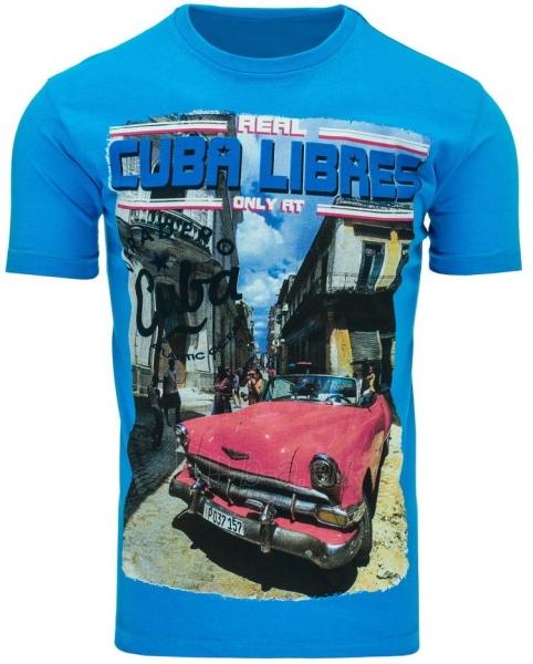Vyriški marškinėliai CUBALIBRES (Turkis) Paveikslėlis 1 iš 5 310820031114