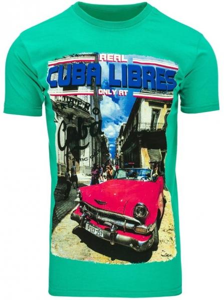 Vyriški marškinėliai CUBALIBRES (Žali) Paveikslėlis 1 iš 5 310820034825