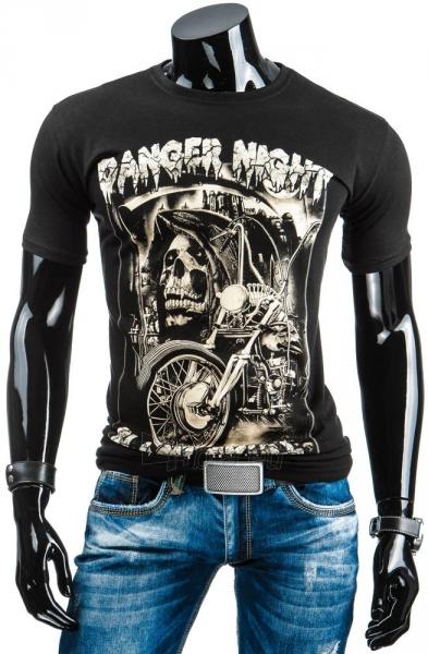 Vyriški marškinėliai DangerNight (Juodi) Paveikslėlis 1 iš 4 310820034868