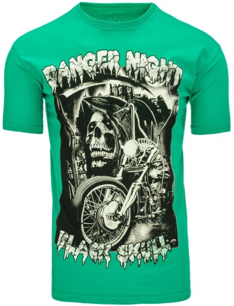 Vyriški marškinėliai DangerNight (Žali) Paveikslėlis 1 iš 5 310820031365