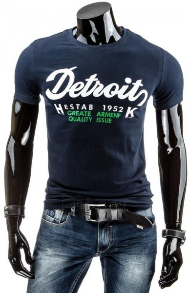 Vyriški marškinėliai DETROITS (Tamsiai mėlyni) Paveikslėlis 1 iš 4 310820034840