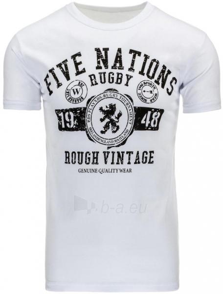 Vyriški marškinėliai DeWitt (Balti) Paveikslėlis 1 iš 1 310820033706