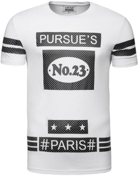 Vyriški marškinėliai Dirbtinė oda RSUES NO.23 Paveikslėlis 1 iš 7 310820033086