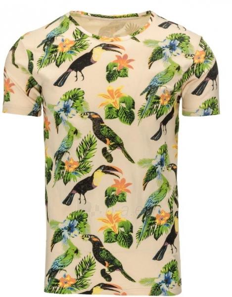 Vyriški marškinėliai Fae (Rusvi) Paveikslėlis 1 iš 5 310820031215