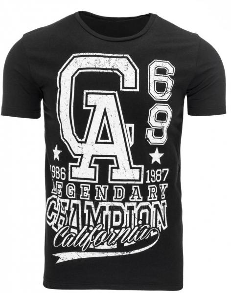 Vyriški marškinėliai GA (Juodi) Paveikslėlis 1 iš 5 310820031188