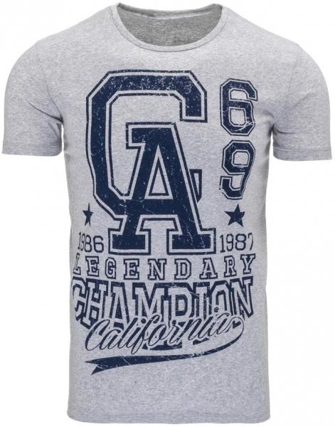 Vyriški marškinėliai GA (Pilki) Paveikslėlis 1 iš 5 310820031191