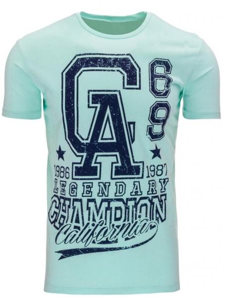 Vyriški marškinėliai GA (Žali) Paveikslėlis 1 iš 5 310820031189