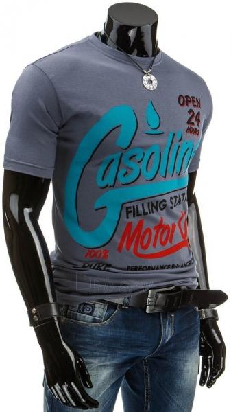 Vyriški marškinėliai Gasoline (Grafitiniai) Paveikslėlis 1 iš 4 310820034828
