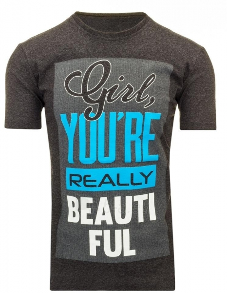 Vyriški marškinėliai Girl (Grafitiniai) Paveikslėlis 1 iš 5 310820031128
