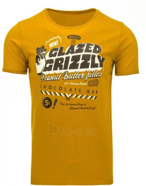 Vyriški marškinėliai GLAZEDGRIZZLY (Geltoni) Paveikslėlis 1 iš 5 310820031101