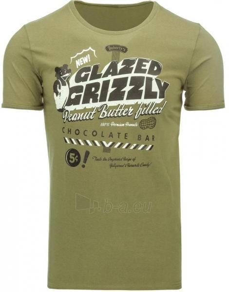 Vyriški marškinėliai GLAZEDGRIZZLY (Pilki) Paveikslėlis 1 iš 5 310820031103