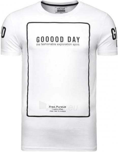 Vyriški marškinėliai Gooood Day (balti) Paveikslėlis 1 iš 6 310820033070