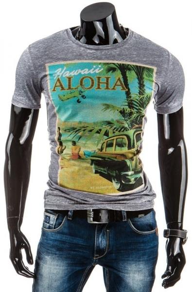 Vyriški marškinėliai HAWAII (Grafitiniai) Paveikslėlis 1 iš 4 310820031228