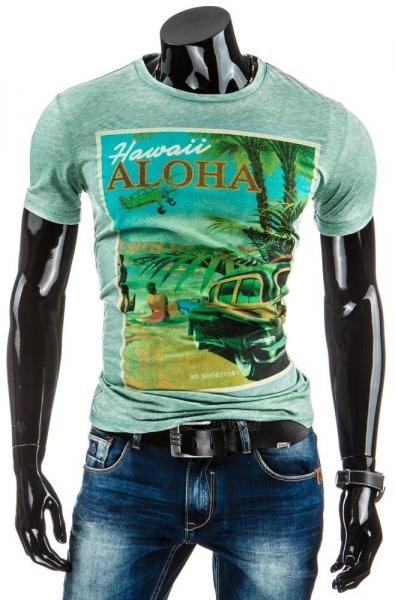 Vyriški marškinėliai HAWAII (Žali) Paveikslėlis 1 iš 4 310820031230