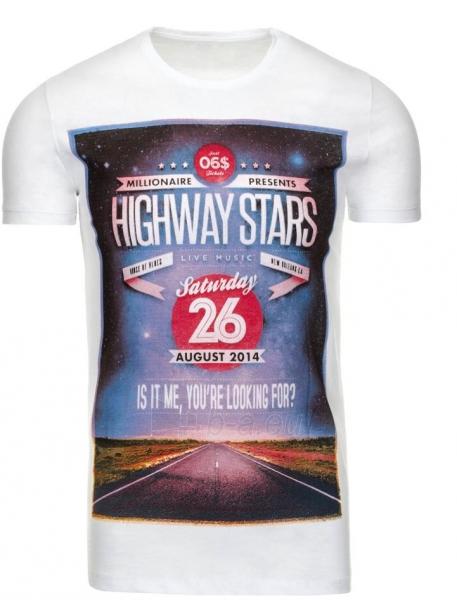 Vyriški marškinėliai HIGHWAYSATRS (Balti) Paveikslėlis 1 iš 5 310820031093