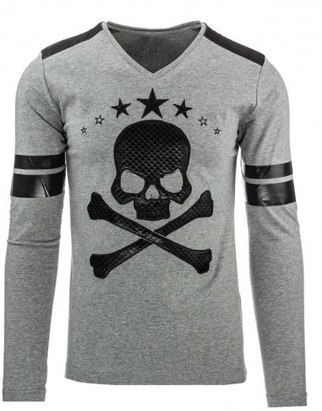 Vyriški marškinėliai ilgomis rankovėmis Basin (Antracitas) Paveikslėlis 1 iš 2 310820032349