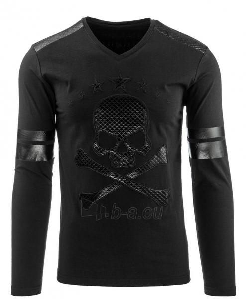 Vyriški marškinėliai ilgomis rankovėmis Basin (Juodi) Paveikslėlis 1 iš 2 310820032348