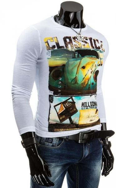 Vyriški marškinėliai ilgomis rankovėmis Classic Paveikslėlis 1 iš 4 310820031337