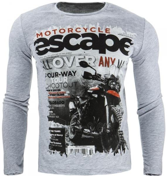 Vyriški marškinėliai ilgomis rankovėmis Dayton (Pilki) Paveikslėlis 1 iš 1 310820031839