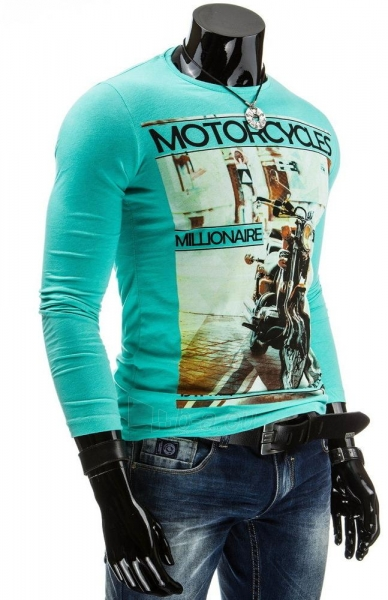 Vyriški marškinėliai ilgomis rankovėmis Motorcycles Paveikslėlis 1 iš 4 310820042347