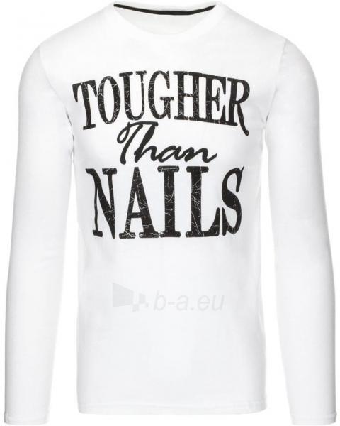 Vyriški marškinėliai ilgomis rankovėmis Nails (Balti) Paveikslėlis 1 iš 5 310820031420