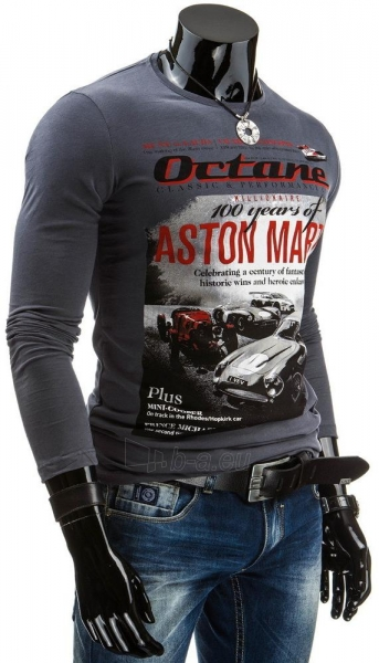 Vyriški marškinėliai ilgomis rankovėmis Octane (Grafitiniai) Paveikslėlis 1 iš 4 310820042348