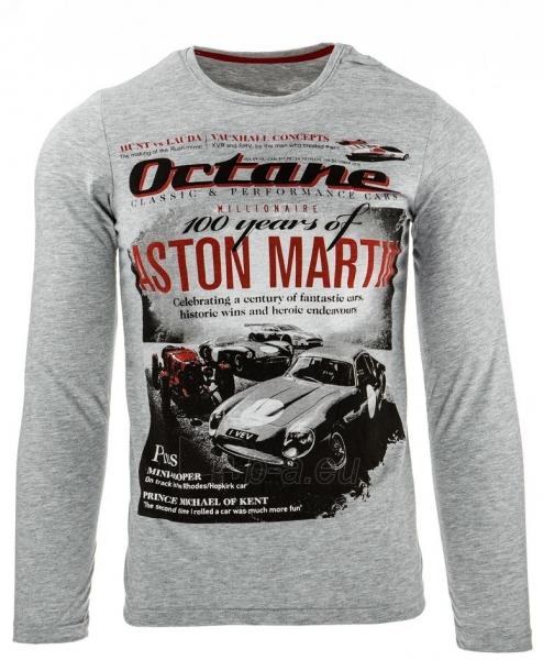 Vyriški marškinėliai ilgomis rankovėmis Octane (Pilki) Paveikslėlis 1 iš 1 310820032339