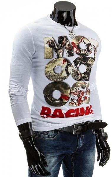 Vyriški marškinėliai ilgomis rankovėmis Racing Paveikslėlis 1 iš 4 310820031342