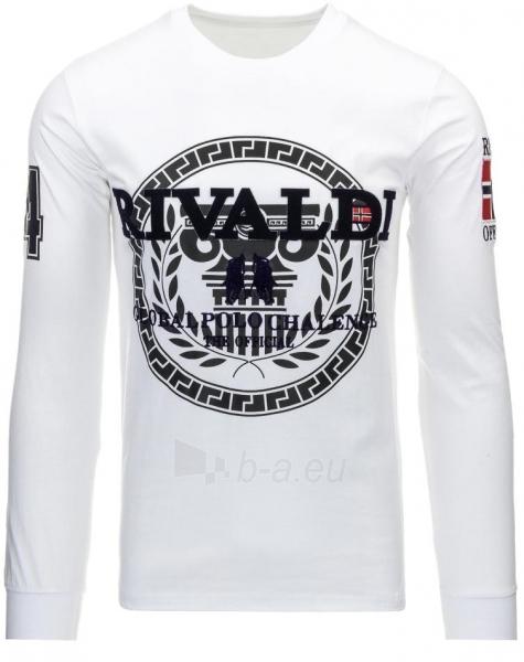 Vyriški marškinėliai ilgomis rankovėmis Rivaldi (Balti) Paveikslėlis 1 iš 2 310820032833