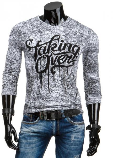 Vyriški marškinėliai ilgomis rankovėmis Taking Over (Balti) Paveikslėlis 1 iš 6 310820031474