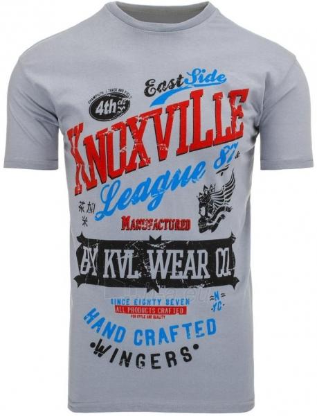 Vyriški marškinėliai KnoxvilLe (Tamsiai pilki) Paveikslėlis 1 iš 5 310820031328