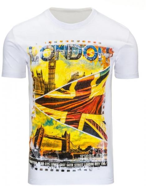 Vyriški marškinėliai Londo (Balti) Paveikslėlis 1 iš 5 310820031149