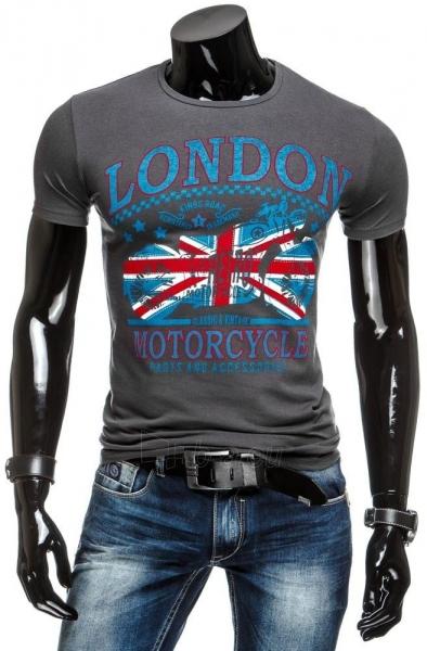 Vyriški marškinėliai LONDON (Grafitiniai) Paveikslėlis 1 iš 4 310820031175