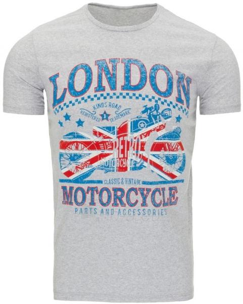 Vyriški marškinėliai LONDON (Pilki) Paveikslėlis 1 iš 5 310820031176