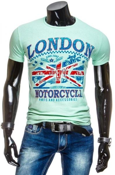 Vyriški marškinėliai LONDON (Žali) Paveikslėlis 1 iš 4 310820031177