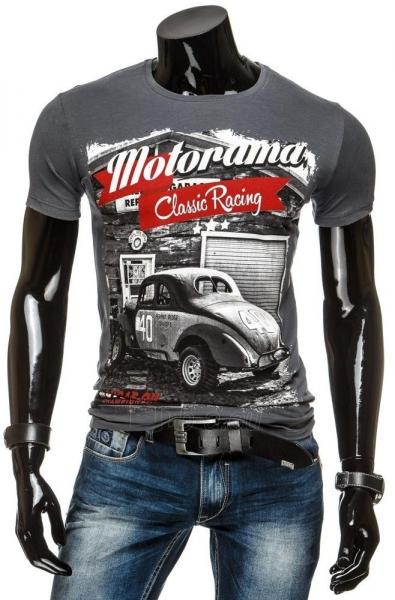Vyriški marškinėliai MOTORAMA (Grafitiniai) Paveikslėlis 1 iš 4 310820034846