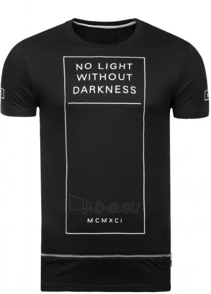 Vyriški marškinėliai No Light Without Darkness (juodi) Paveikslėlis 1 iš 7 310820033075