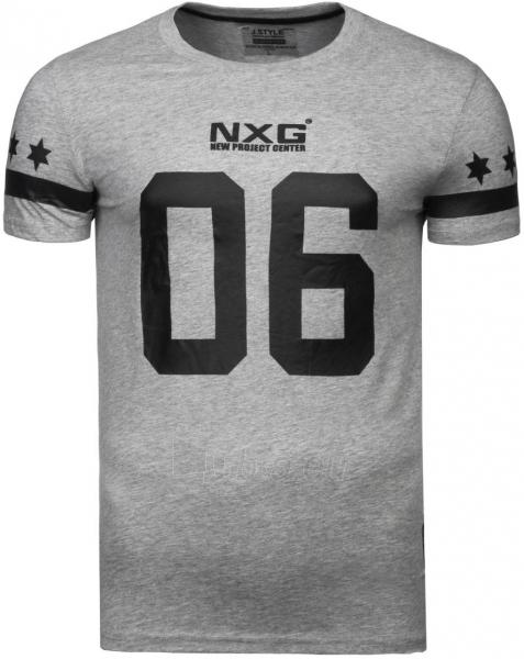 Vyriški marškinėliai NXG 06 (pilki) Paveikslėlis 1 iš 6 310820033067