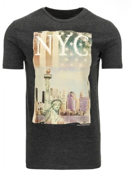 Vyriški marškinėliai NYC (Grafitiniai) Paveikslėlis 1 iš 5 310820031159