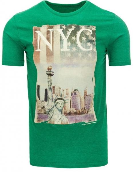Vyriški marškinėliai NYC (Žali) Paveikslėlis 1 iš 5 310820033504